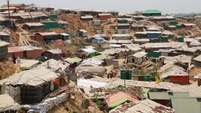 COX's BAZAR BANGLADESH MAY 02 Rohingya Muslims fled from ongoing military operations in Myanmar's Rakhine state leading life at refugee camp at Cox's...