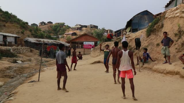 COX's BAZAR BANGLADESH MAY 03 Rohingya Muslims fled from ongoing military operations in Myanmar's Rakhine state leading life at refugee camp at Cox's...