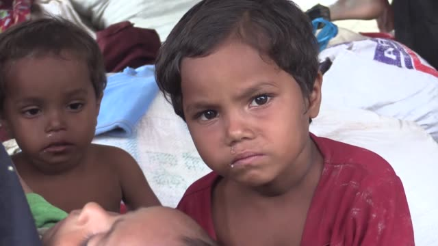 cox's bazar bangladesh september 10 rohingya muslims who fled their homes in western myanmar's rakhine state due to the ongoing operations conducted... - cox's bazar stock videos & royalty-free footage