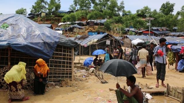 COX'S BAZAR BANGLADESH OCTOBER 05 Rohingya people's daily life in a camp Cox's Bazar Bangladesh on October 05 2017