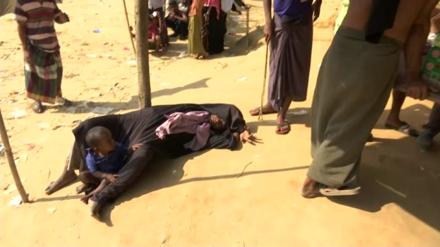 Myanmar's military accused of systematic sexual assault BANGLADESH Cox's Bazar District Ukhia Upazila Kutupalong refugee camp EXT Child towards...