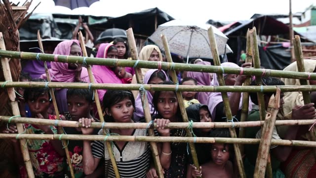 COX'S BAZAR BANGLADESH MAY 18 Rohingya refugee leads life inside refugee camp in Cox's Bazar Bangladesh on May 18 2018 In the Rohingya refugee camps...