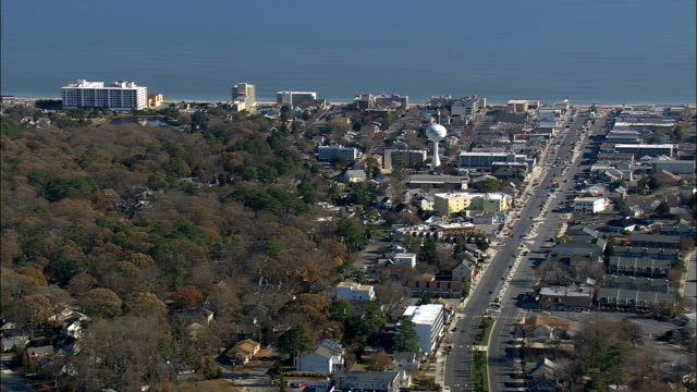 Rohoboth Avenue  - Aerial View - Delaware,  Sussex County,  United States