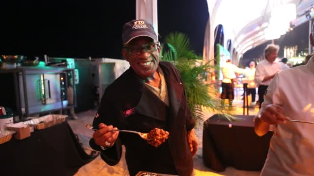 roker at the q hosted by paula deen and sons in miami, 02/21/13 al roker at the q hosted by paula deen and sons in on february 21, 2013 in miami,... - al roker stock videos & royalty-free footage