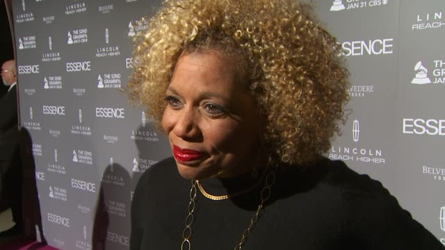 Rolanda Watts on Mary J Blige and on why Essence Magazine is so important at the ESSENCE Black Women In Music Honoring Mary J Blige at West Hollywood...
