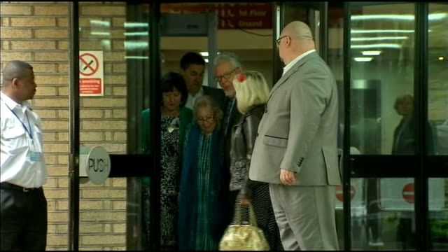 rolf harris found guilty of 12 counts of indecent assault court departure and statements england london southwark crown court mike orchard statement... - bindi stock videos and b-roll footage