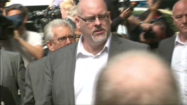 rolf harris has been told how long he will serve behind bars for a string of sex attacks against young girls mr justice sweeney at southwark crown... - rolf harris stock videos and b-roll footage
