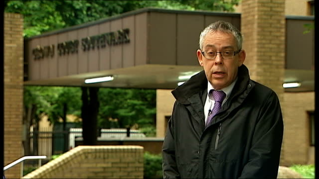 harris admits to having a 'dark side' reporter to camera - rolf harris stock videos and b-roll footage