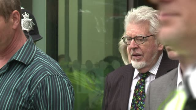rolf harris the veteran australian artist and entertainer appeared in a london court on monday charged with nine counts of indecent assault on two... - rolf harris stock videos and b-roll footage