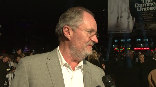 Jim Broadbent at the The Damned United Premiere at London