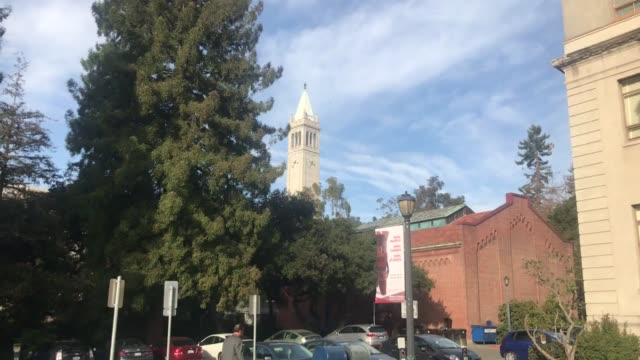 roll shots of uc berkeley campus - university of california stock videos & royalty-free footage