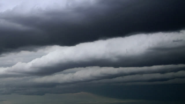 roll vortices of cloud, timelapse - stratocumulus stock videos and b-roll footage