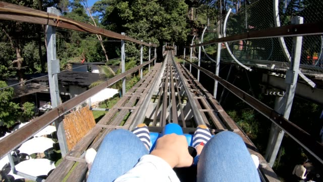 pov : rollercoaster ride - point of view stock videos & royalty-free footage