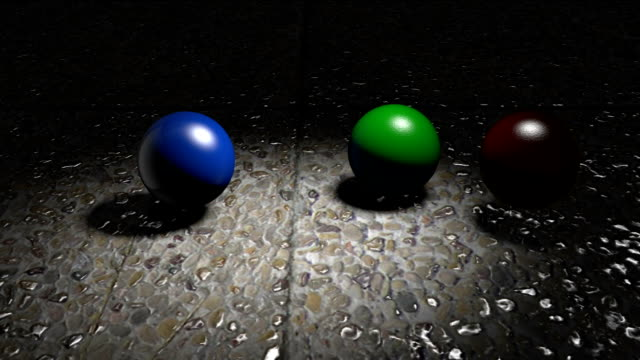 rolling balls in 3d - 3d animation stock videos & royalty-free footage