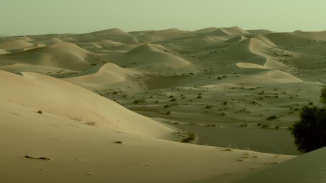Rolling desert sand dunes, UAE