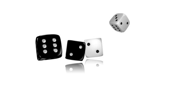 rolling dices - dice stock videos & royalty-free footage