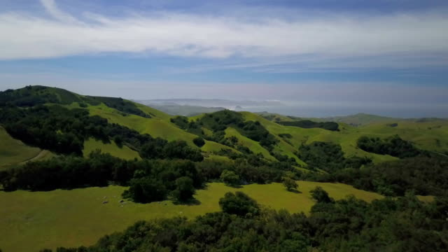 Rolling hills from big sur
