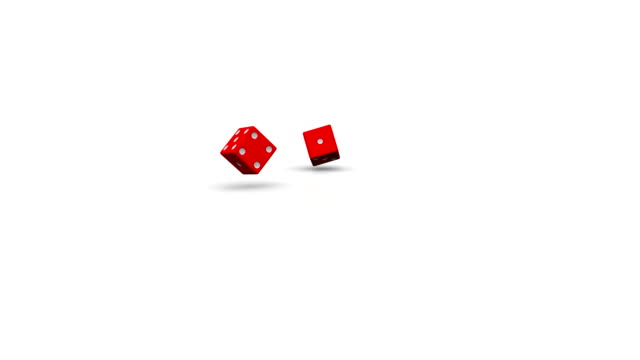 rolling red dice - dice stock videos & royalty-free footage