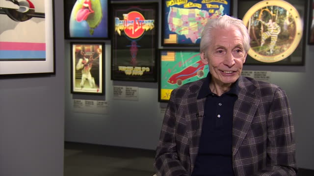 Rolling Stones drummer Charlie Watts saying he 'used to quit after every show' because it would 'drive him up the wall'