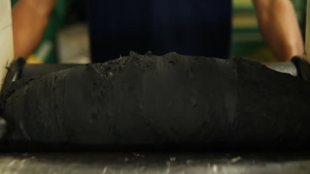 rolling the material - rubber stock videos & royalty-free footage
