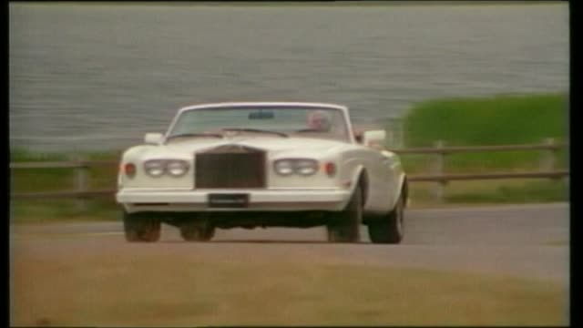 rolls royce corniche - rolls royce stock videos and b-roll footage