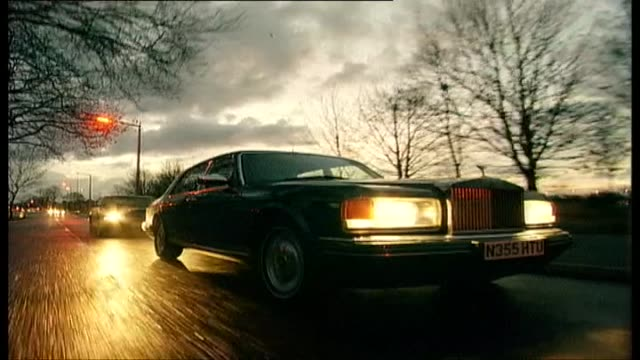 rolls royce silver dawn and bentley brooklands - rolls royce stock videos and b-roll footage