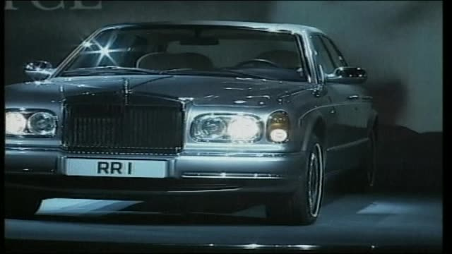 rolls royce silver seraph - rolls royce stock videos and b-roll footage