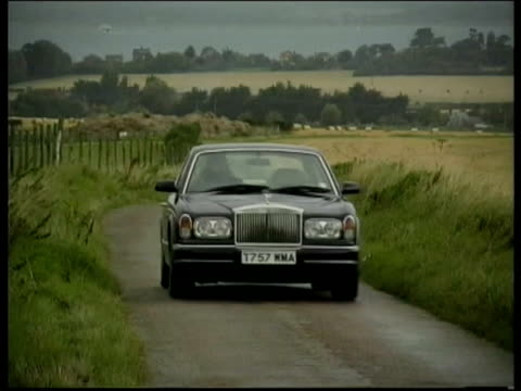 rolls-royce silver seraph - rolls royce stock videos and b-roll footage