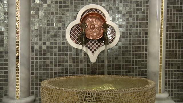 roman and turkish bath details - bathhouse stock videos & royalty-free footage