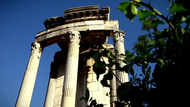 Roman Forum in Rome: The Temple of Vesta