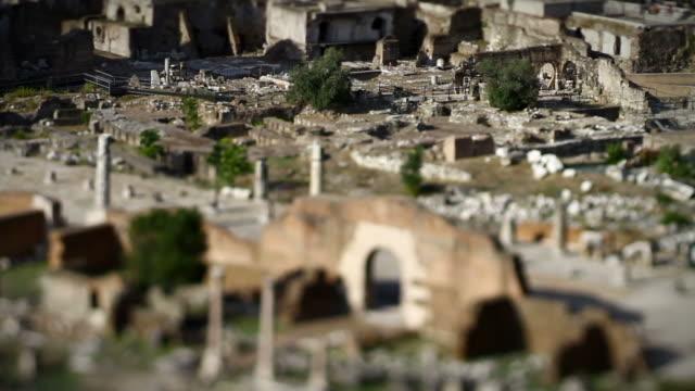 Roman Forum Panning Video HD