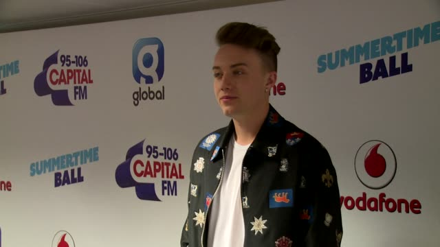 roman kemp at wembley arena on june 10 2017 in london england - wembley arena stock videos & royalty-free footage