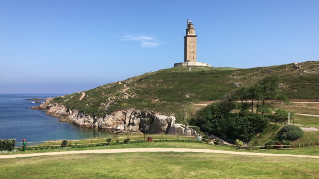 Roman lighthouse, Galicia.