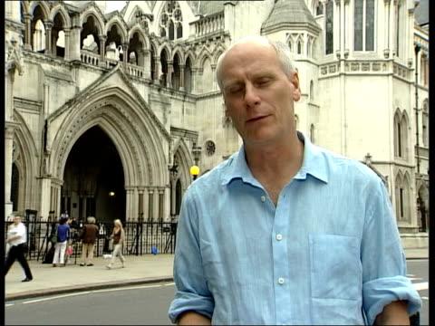 stockvideo's en b-roll-footage met london high court i/c - roman polanski