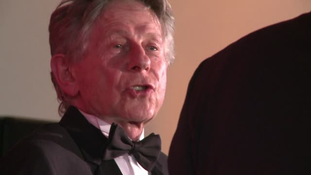 stockvideo's en b-roll-footage met roman polanski will not preside over the french oscars the cesars next month his lawyer said tuesday after women threatened to protest about the... - roman polanski