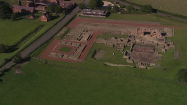 vídeos y material grabado en eventos de stock de roman remains at wroxeter - shrewsbury