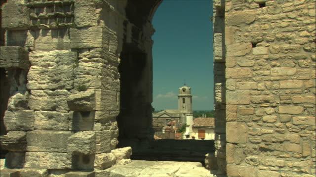 MS PAN Roman ruins / Arles, Provence, France