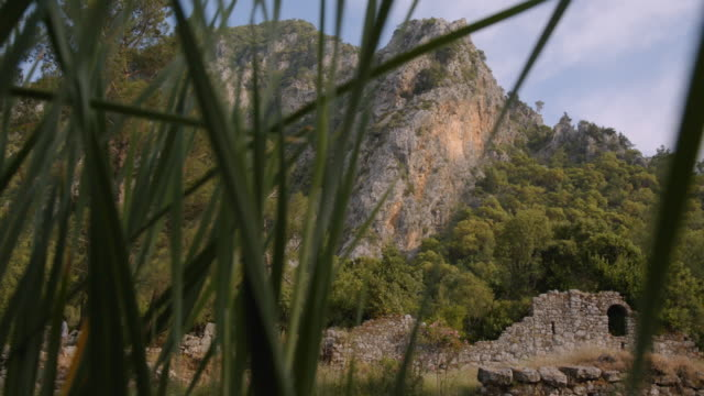 vidéos et rushes de roman ruins - olympos, turkey - imperfection