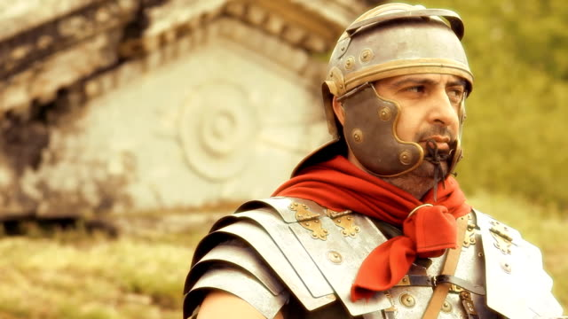 roman soldier - roman soldier stock videos and b-roll footage