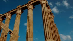 Roman Temple of Evora - Temple of Diana - Evora, Portugal