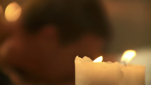 hd: romance - candlelight stock videos & royalty-free footage