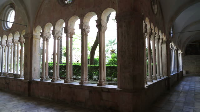 Romanesque and Gothic cloister of the Franciscan Monastery, Dubrovnik