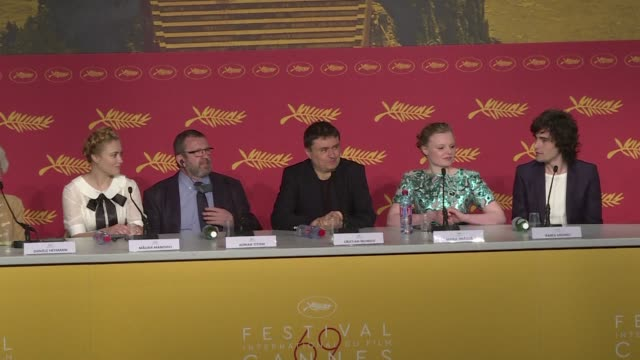 romanian director cristian mungiu who presented his latest drama graduation in cannes the story of a father in transylvania who hopes his daughter... - transylvania stock videos & royalty-free footage