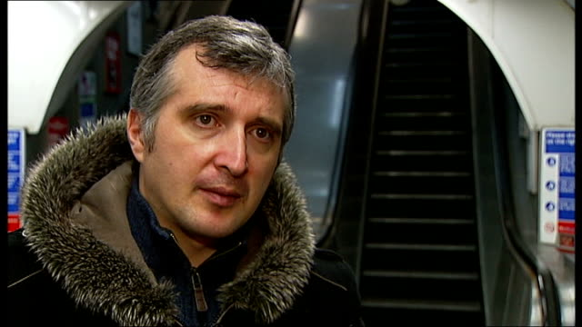 Romanian tourist Vasile Belea goes missing on London Underground Reporter to camera Ciprian Belea interview SOT Reporter to camera
