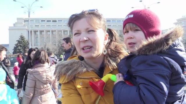 Romania's biggest protests since communism enter a fifth day with a 'parent and child' demonstration ahead of a rally which is expected to see...