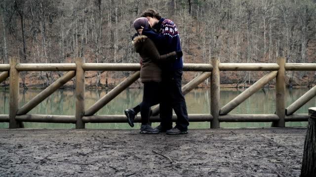 HD: Romantic Couple Kissing