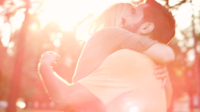 romantic couple - embracing stock videos & royalty-free footage