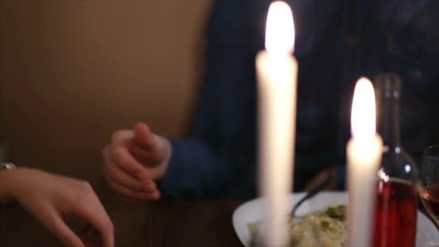 romantic dinner - meal stock videos & royalty-free footage