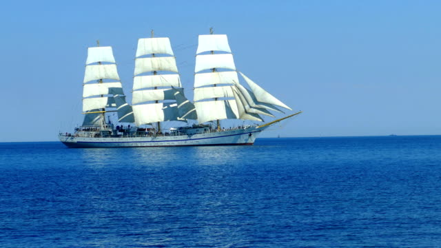 romantic journey on an old Tall ship