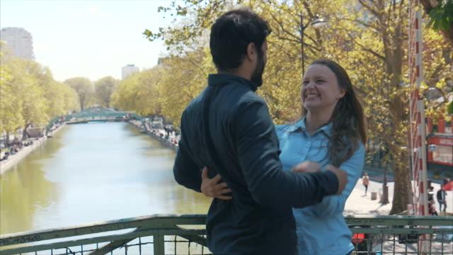 Romantic meeting in Paris